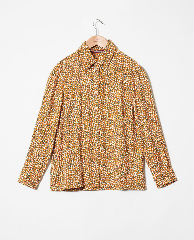 Camisa estampada Leopard thai curry Jumulus