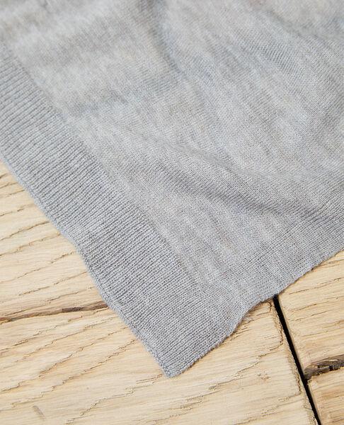 Comptoir des Cotonniers - Bufanda de lana Heather light grey - 3