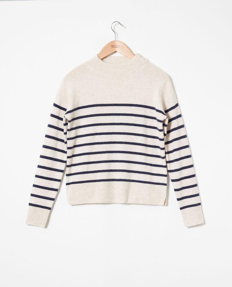 Jersey estilo marinero de de 100% cachemir Butter/evening Jolimer