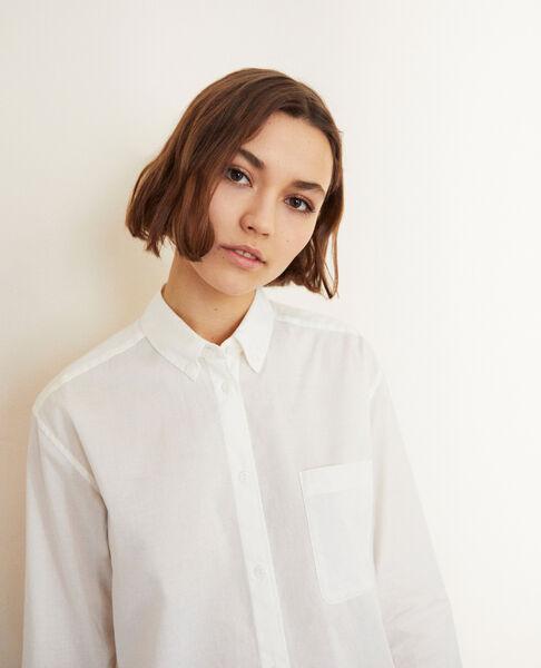 Comptoir des Cotonniers - Camisa atemporal de algodón Blanc - 5