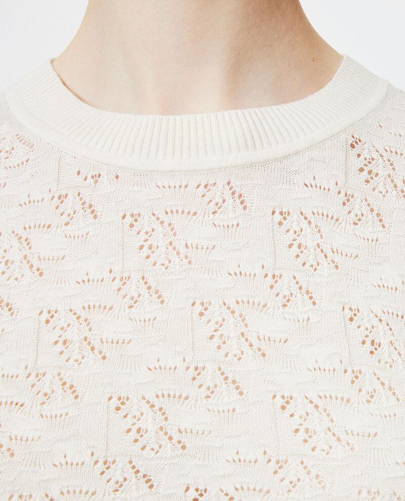 Jersey de algodón y lino Buttercream Lagos