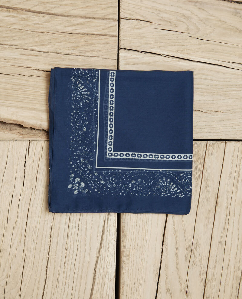 Fular estampado Dark navy Idana