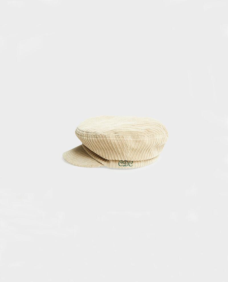 Gorra de pana Light taupe Meonard