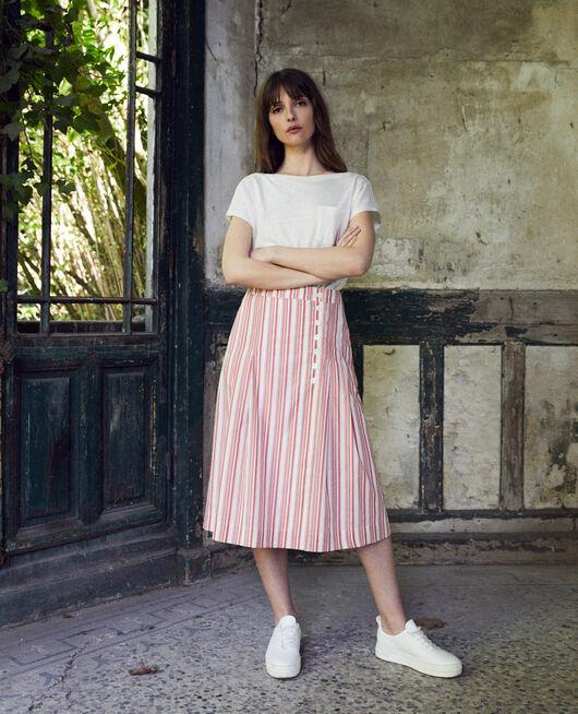 Falda cruzada de algodón DS MOLTEN LAVA