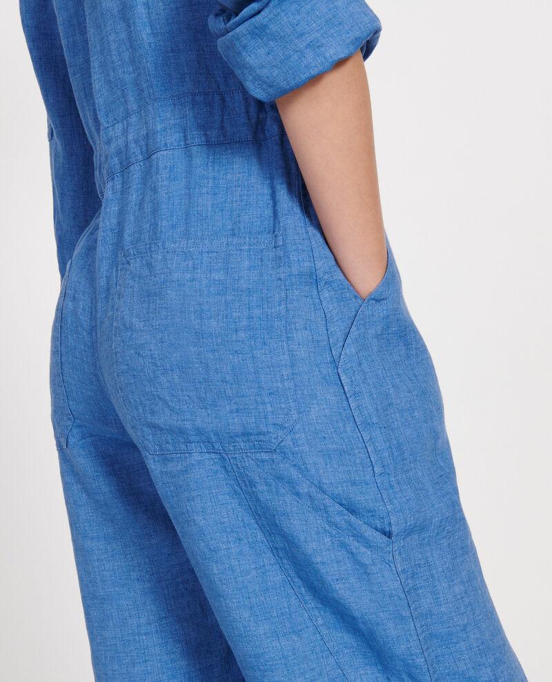 Combinaison pantalon en lin Indigo Lachassain