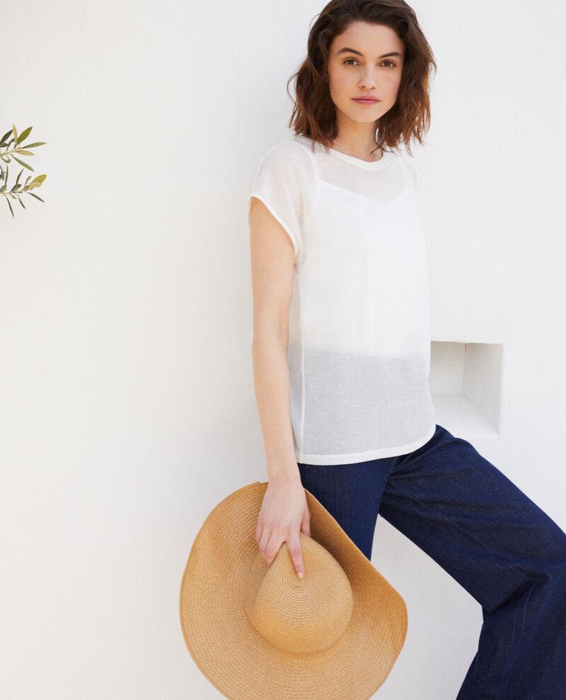 Camiseta atemporal Off white Idele