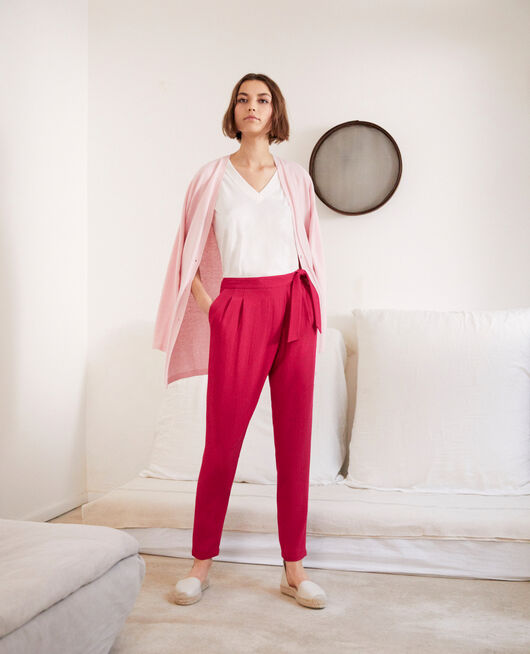 Pantalón estilo árabe FUSHIA