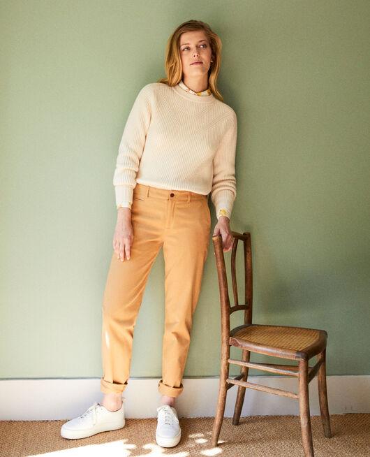 Pantalones chinos de tela  ICED COFFEE