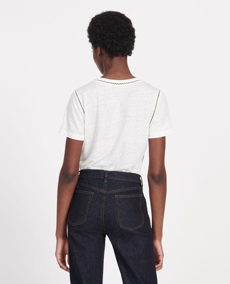 Camiseta de lino de jersey Gardenia Lye