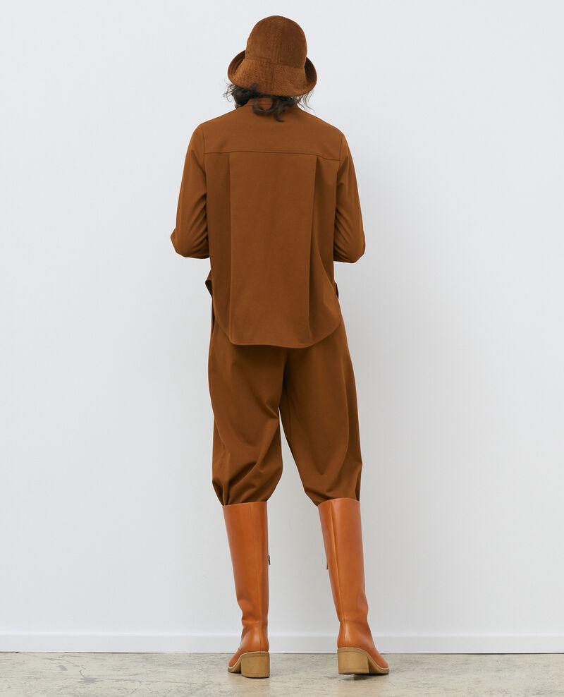 Camisa cuello mao Monks robe Piblange