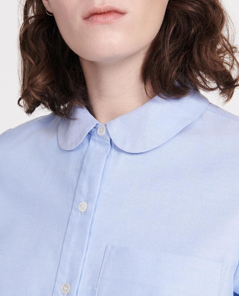 Camisa de algodón  Chambray blue Lalica