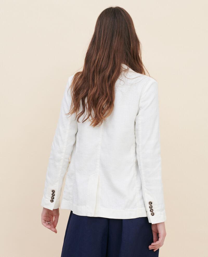 Blazer masculino de algodón y lino Gardenia Lalbere