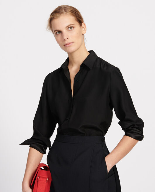 Camisa de seda BLACK BEAUTY