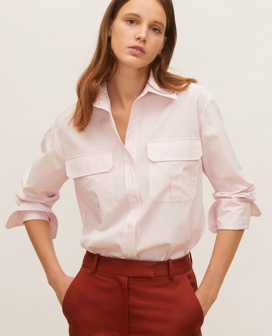 Camisa de hombre de algodón oversize  PRIMROSE PINK
