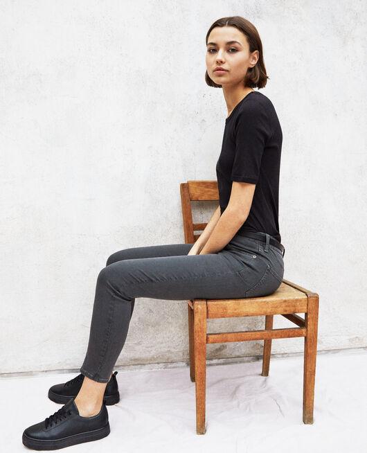 Jeans slim DARK GREEN