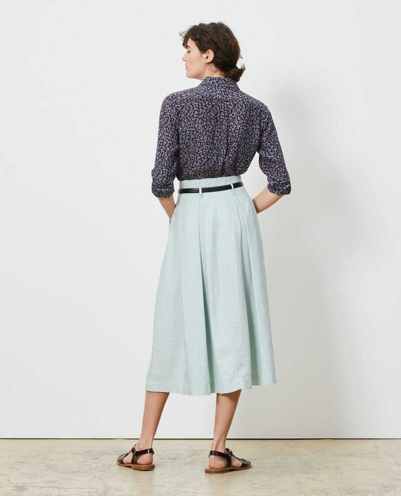 Falda longitud media Blue haze Lorlange