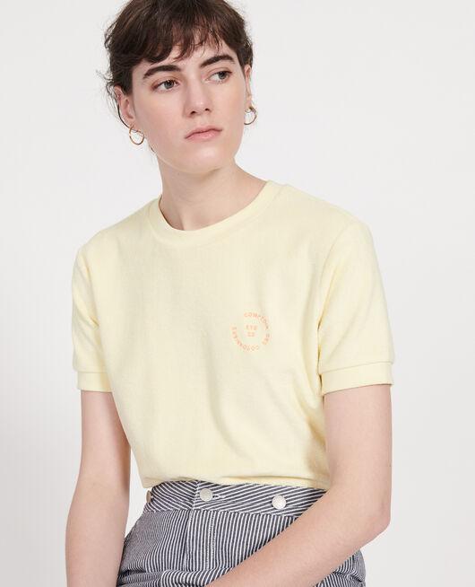Camiseta de algodón TENDER YELLOW