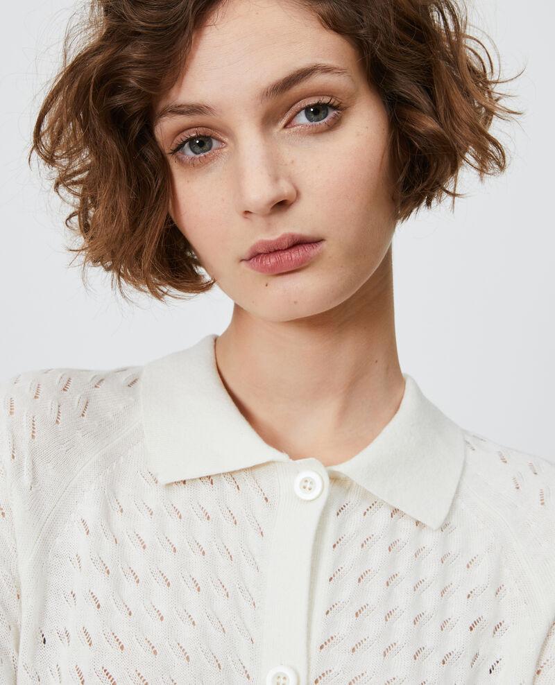 Cárdigan de algodón y lino Gardenia Novo