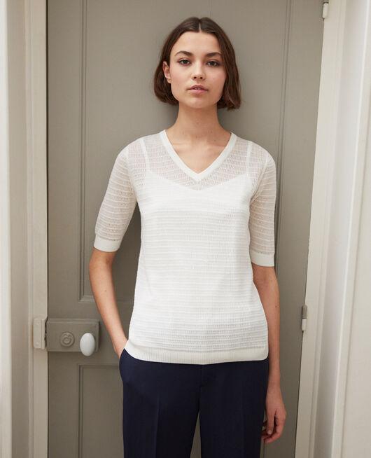 Camiseta de punto OFF WHITE