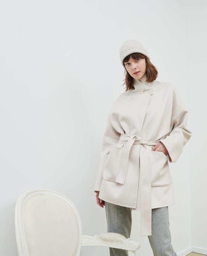 Abrigo de lana y cachemir de doble cara Rainy day Pantin