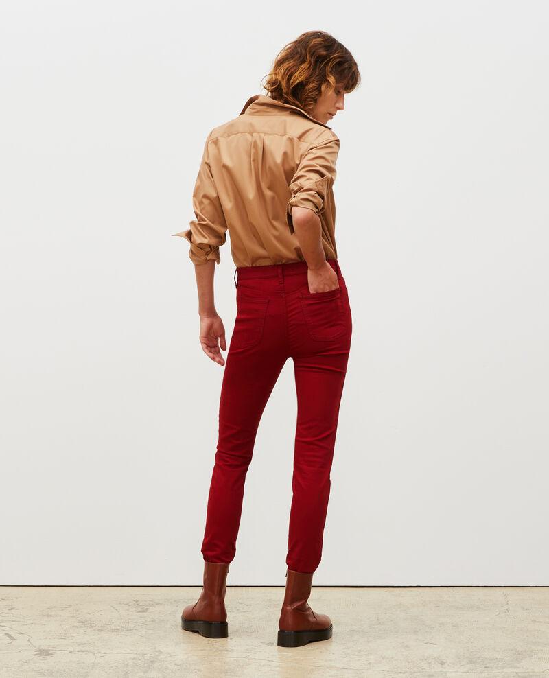SKINNY - Jeans 5 bolsillos Royale red Mozakiny