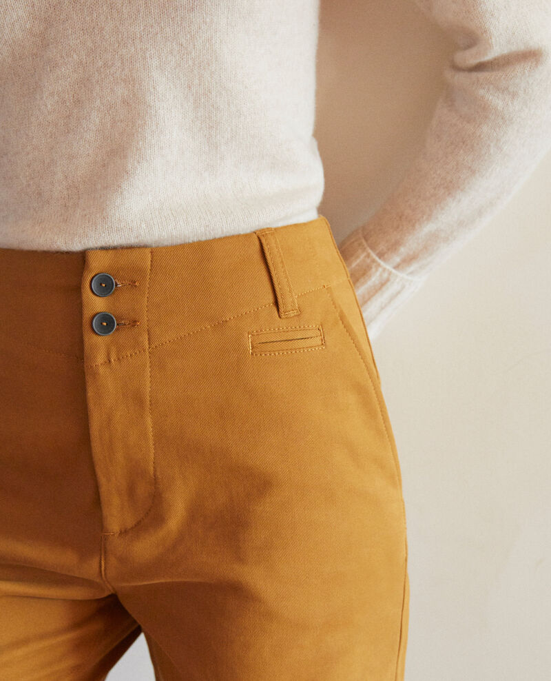 Pantalones chinos Golden brown Gabini