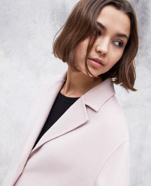 Comptoir des Cotonniers - Abrigo de doble cara Pink icing - 4