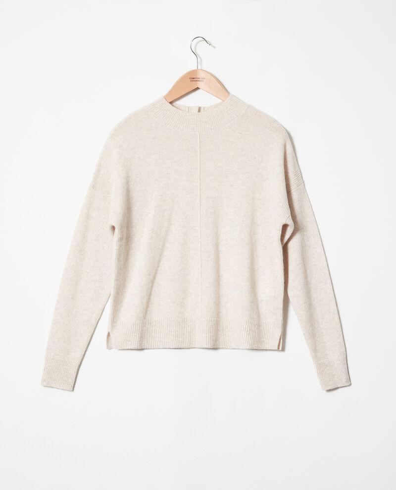 Jersey con botones en la espalda de 100% cachemir Buttercream Jook