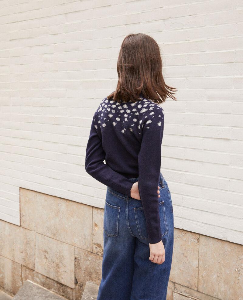 Jersey con estampado Azul Gleopard