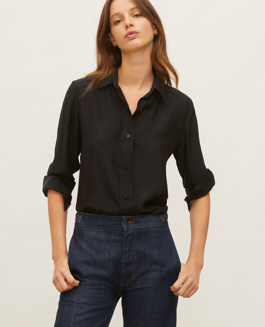 Camisa de seda BLACK BEAUTY