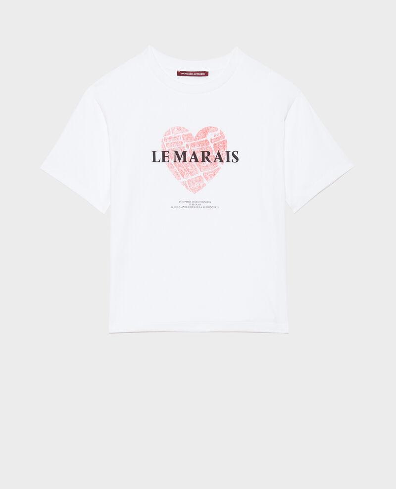 Camiseta de algodón manga corta Valiant poppy Mia