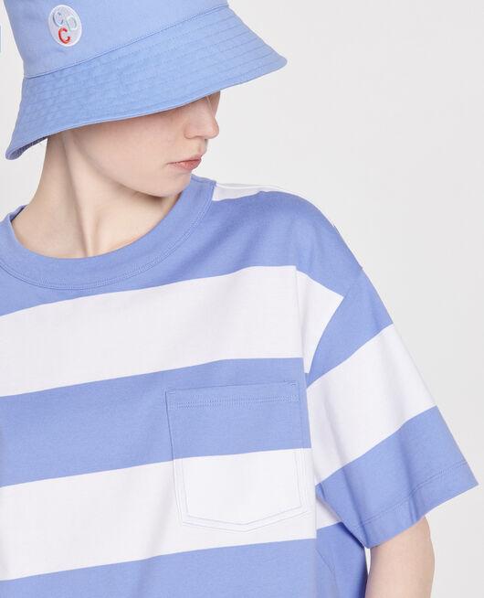 Camiseta rayada oversize STR OPTICALWHITE PERSIANJEWELS