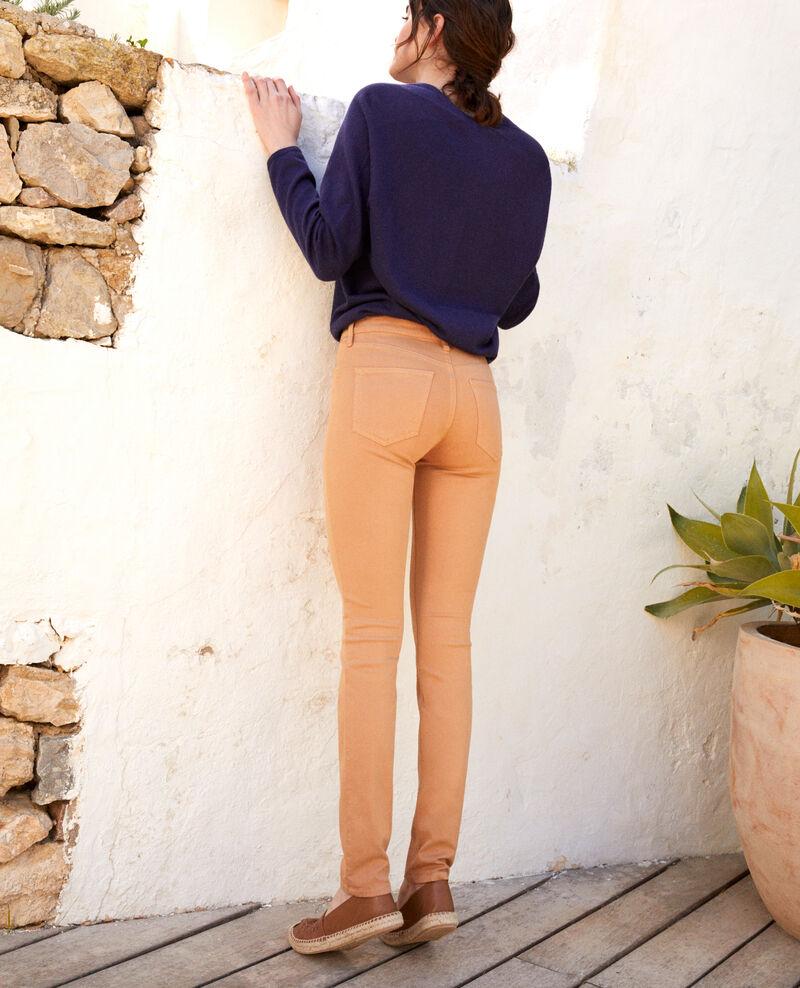 Jeans corte slim Caramel beige 9illineto