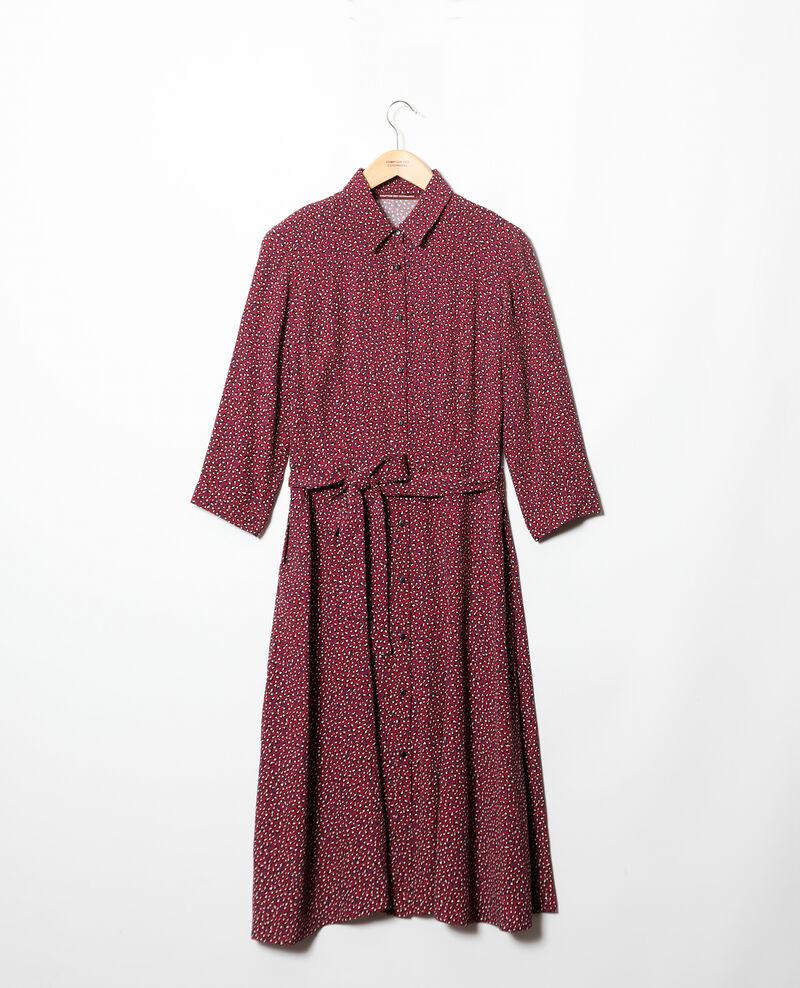 Vestido camisero  Rojo Gabriela