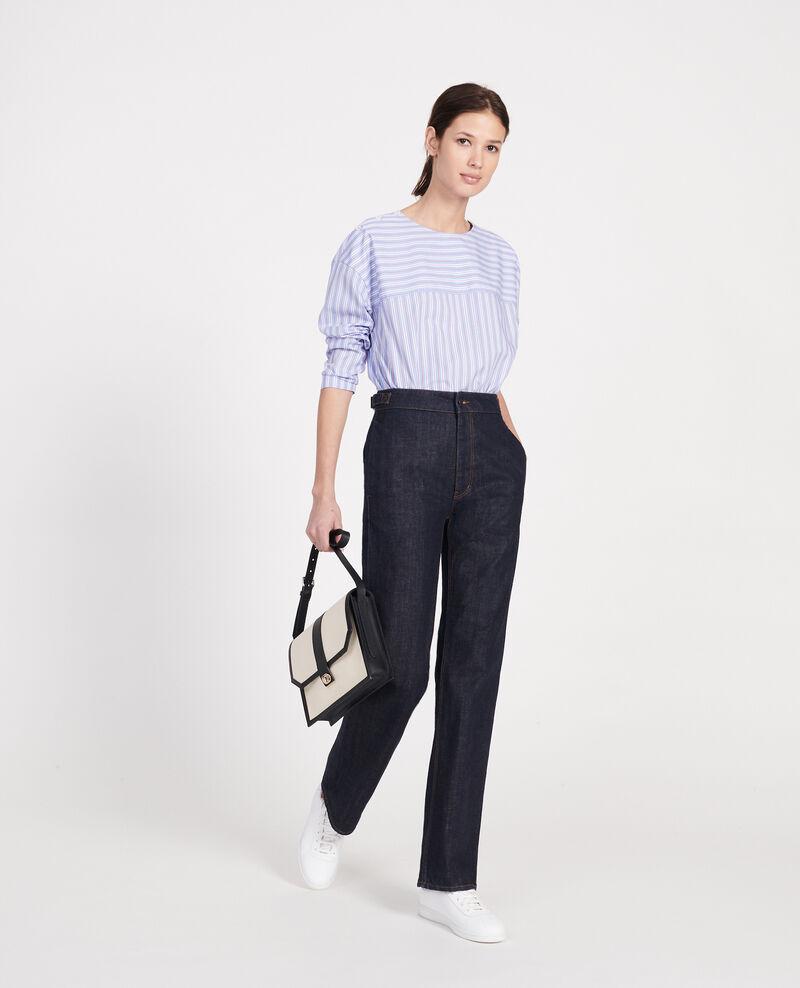 Jeans anchos  Denim rinse Libbie