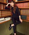 Jeans fashion fit Noir Jani