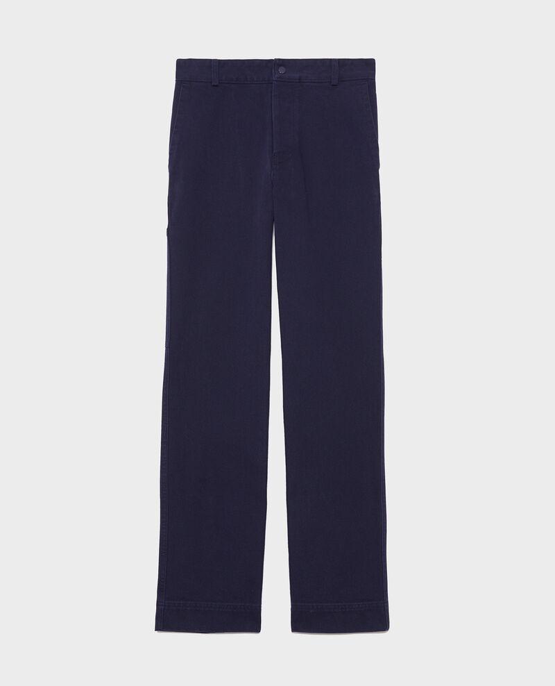 Pantalón con bolsillos Maritime blue Laora