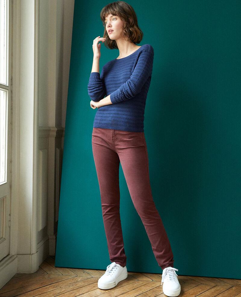 Jeans corte slim Decadente chocolate Goneto