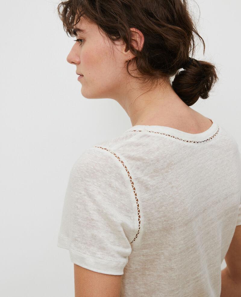 Camiseta de lino Gardenia Lye