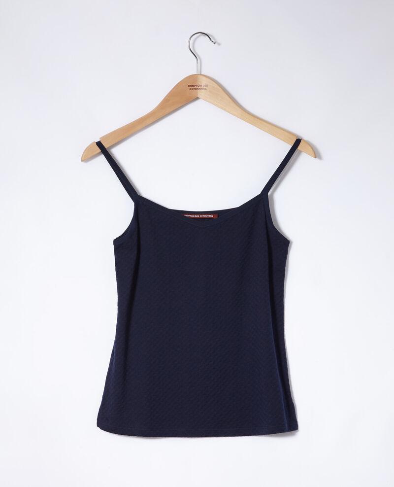 Camiseta con tirantes finos Bleu marine Gagnant