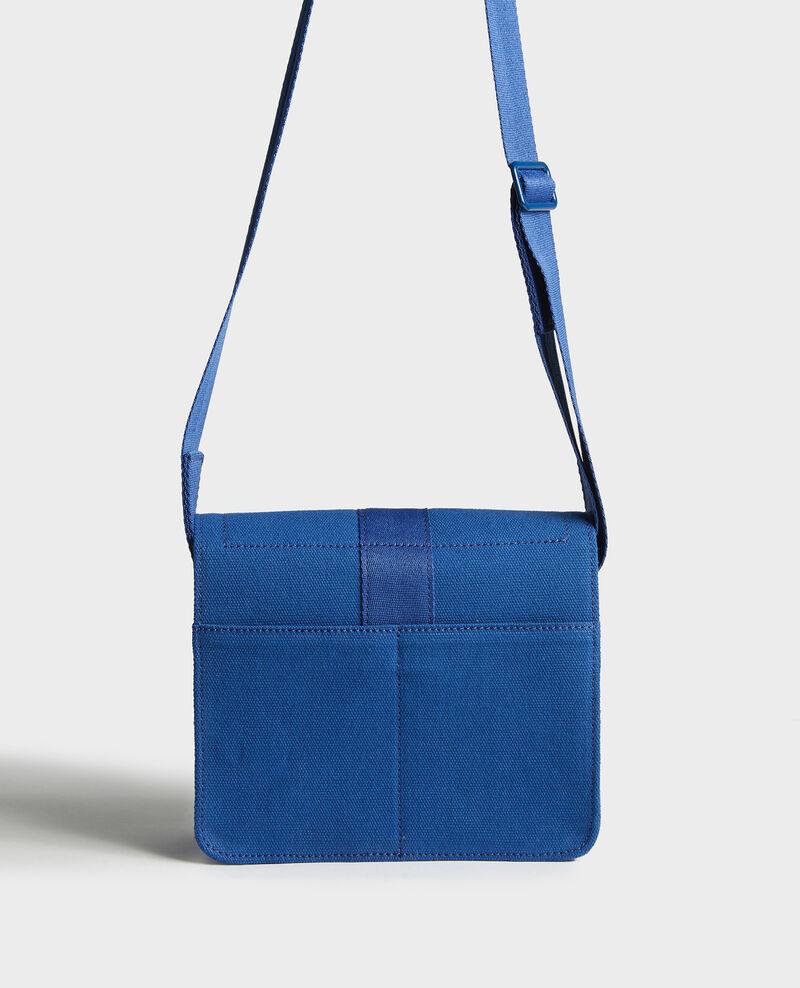 Bolso pequeño de algodón Princess blue Litterature
