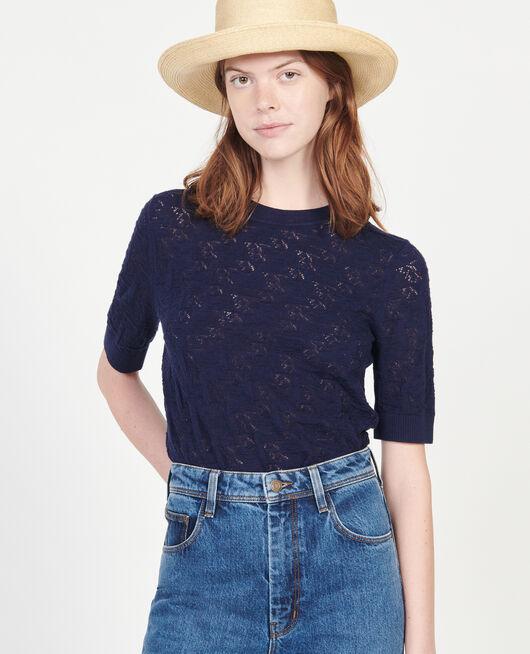 Camiseta de punto MARITIME BLUE