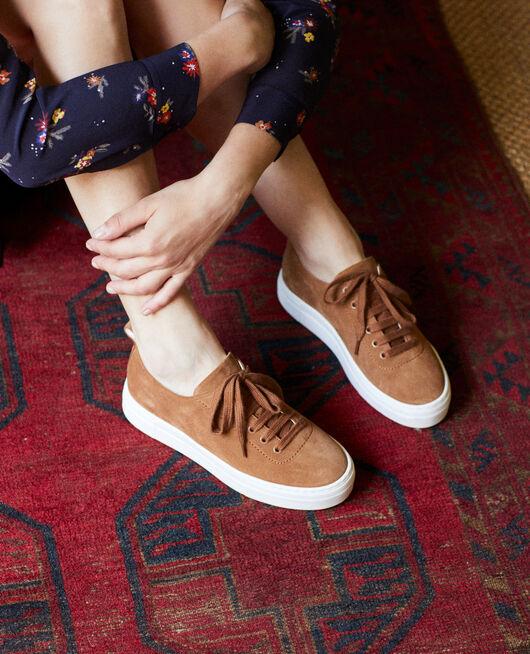Sneakers con plataforma  CAMEL