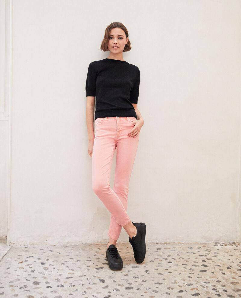 Jeans Skinny Salmon pink Ibonair