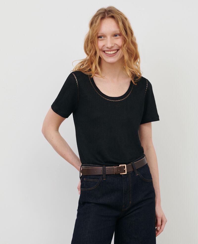Camiseta de lino Black beauty Lye