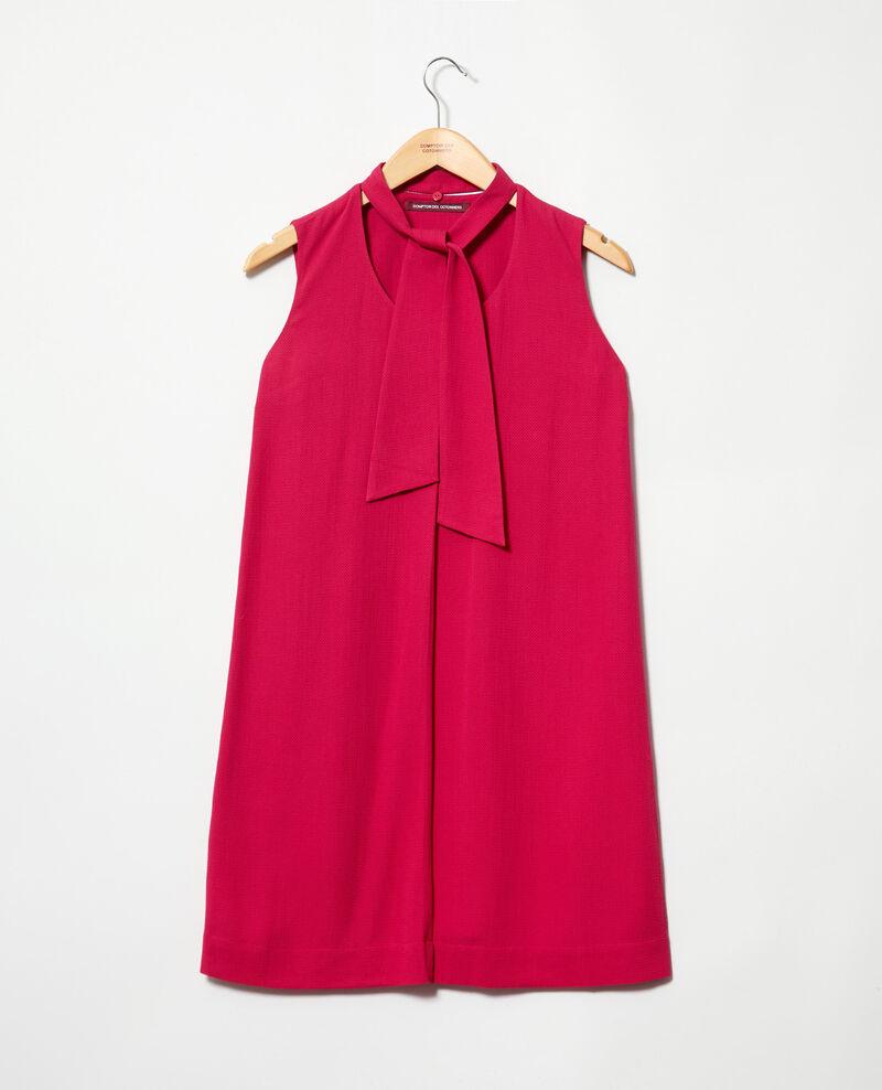 Vestido con tira desmontable Fushia Iolandi