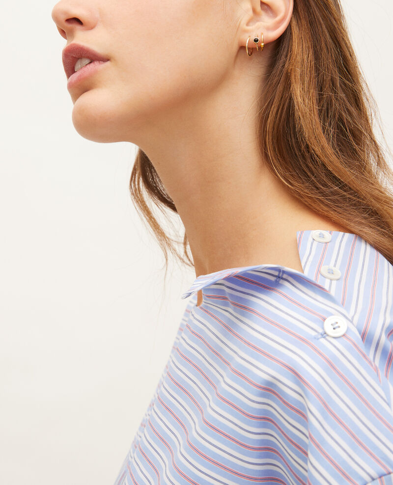 Blusa rayada oversize Popeline stripes Lennon