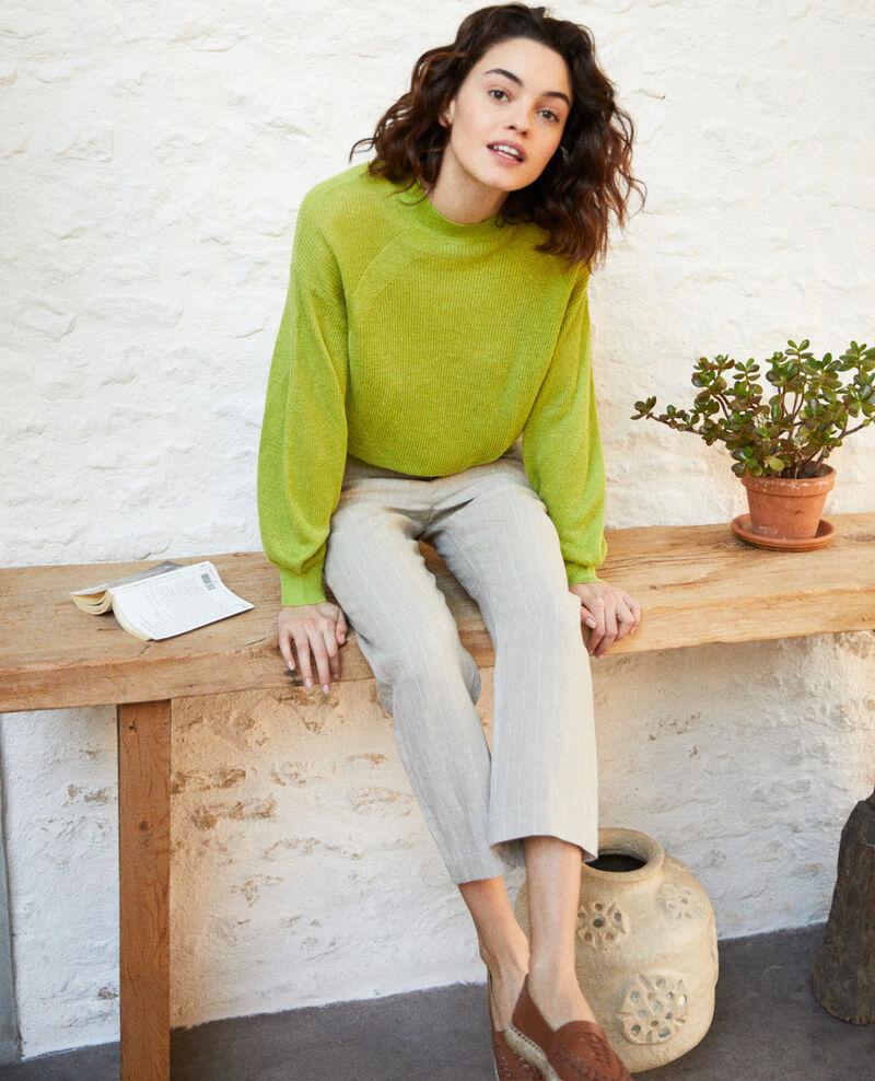 Jersey de cuello subido Lime green Icote