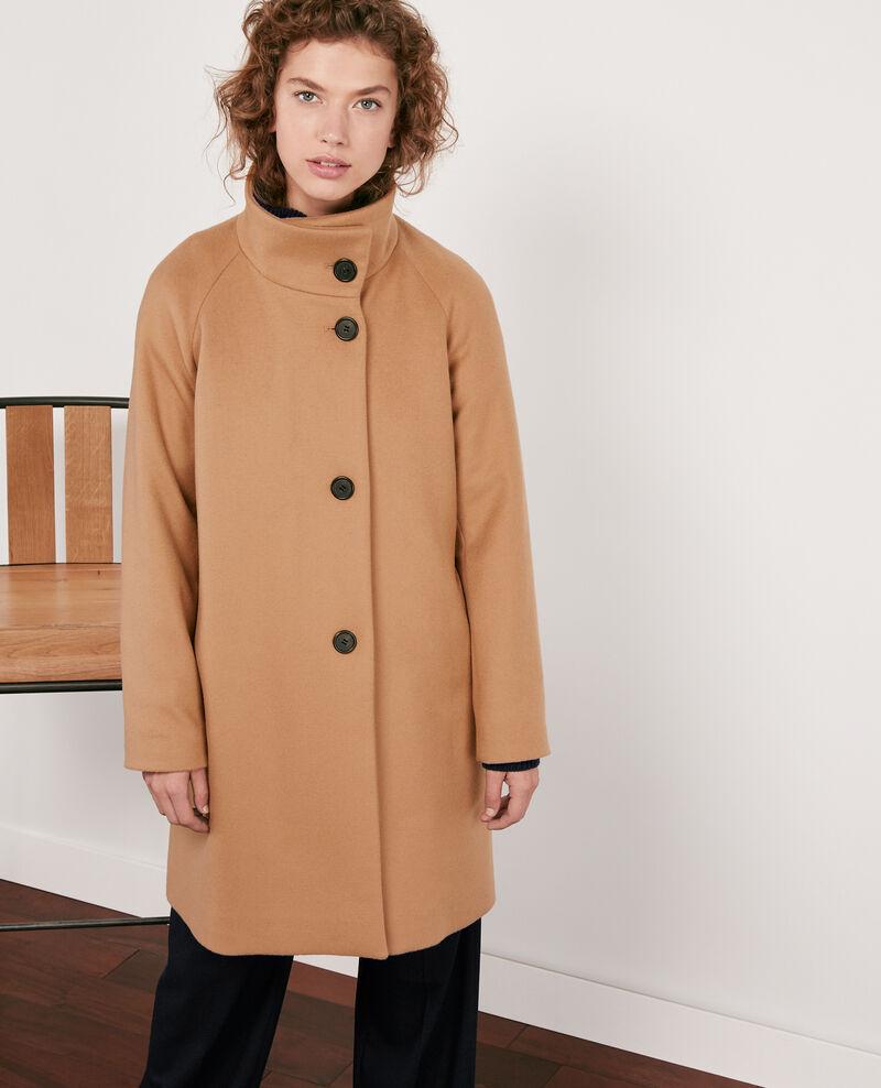 Abrigo de lana Chamois Dyera