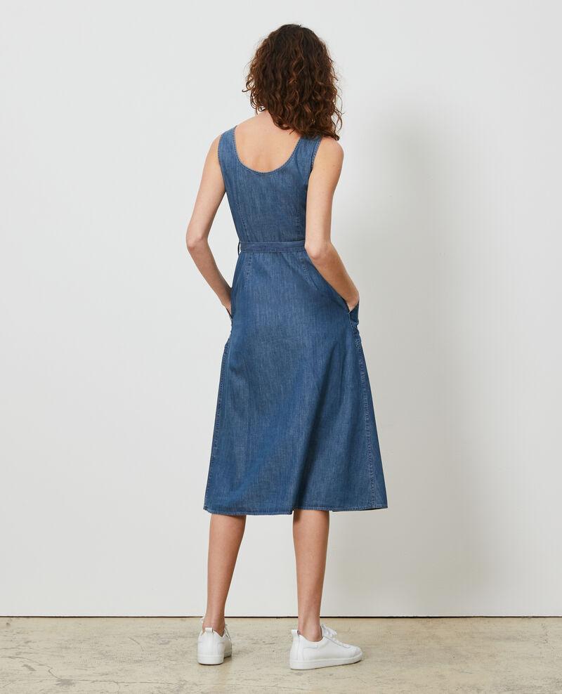 Vestido de tirantes en denim Denim blue Noisa